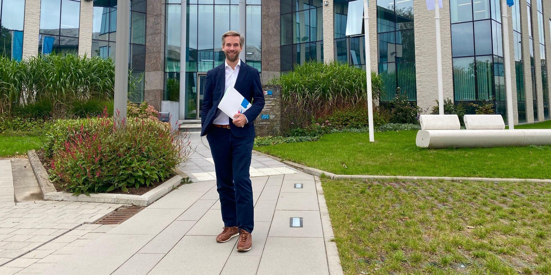 """Tanguy Stuckens, nouveau président du collège provincial: """"La Province du Brabant wallon est à un moment charnière"""""""