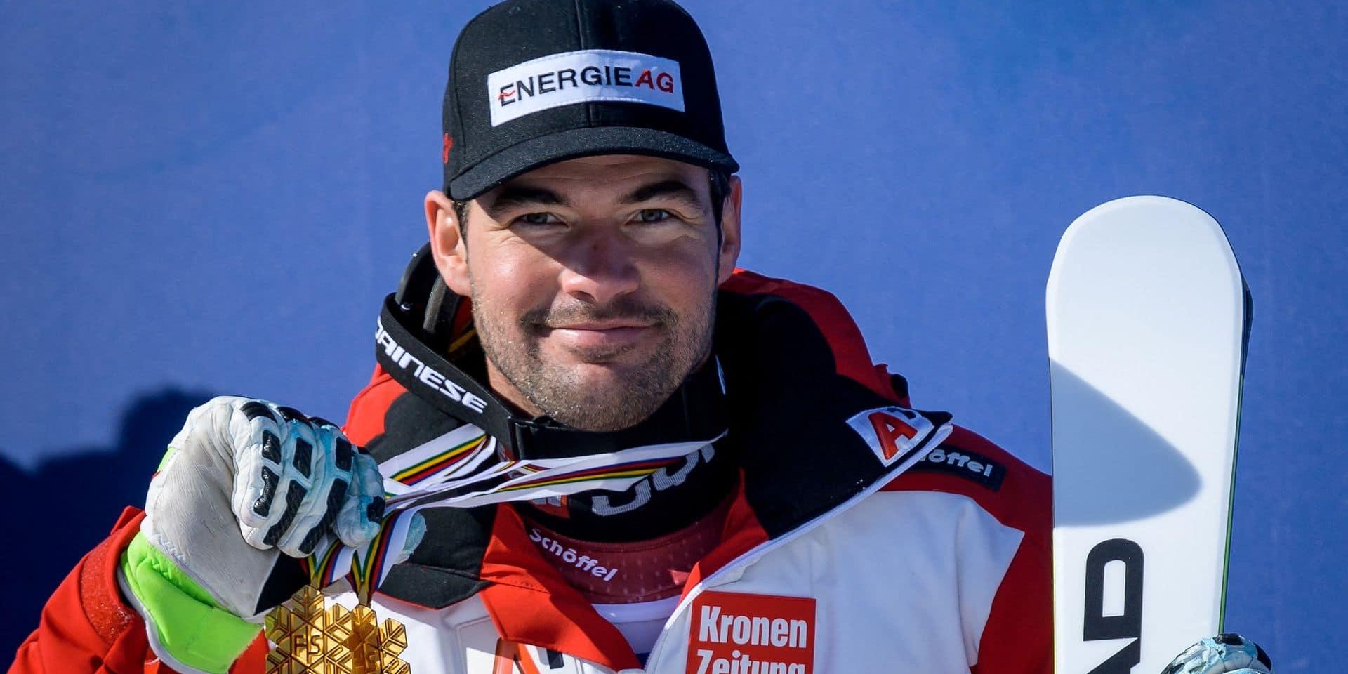 Ski alpin: Kriechmayr, fier de ses racines... belges