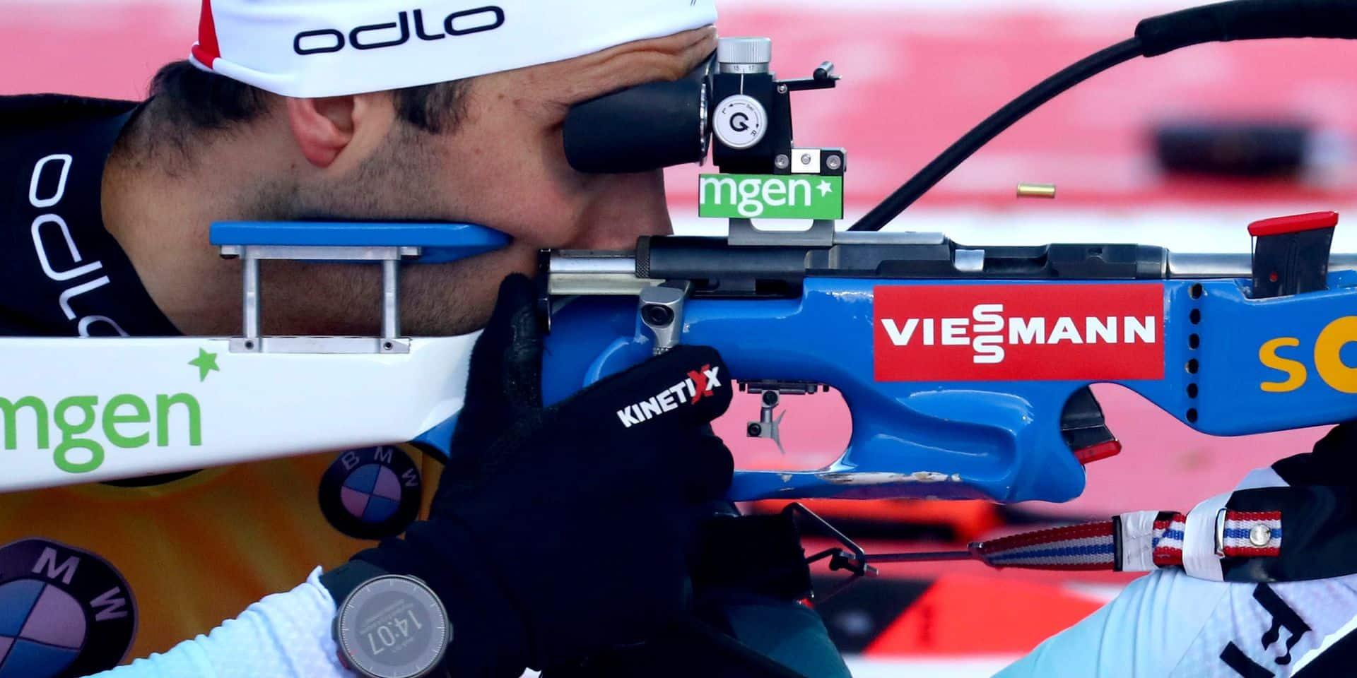 Biathlon: Martin Fourcade remporte le sprint de Ruhpolding et garde la tête du général