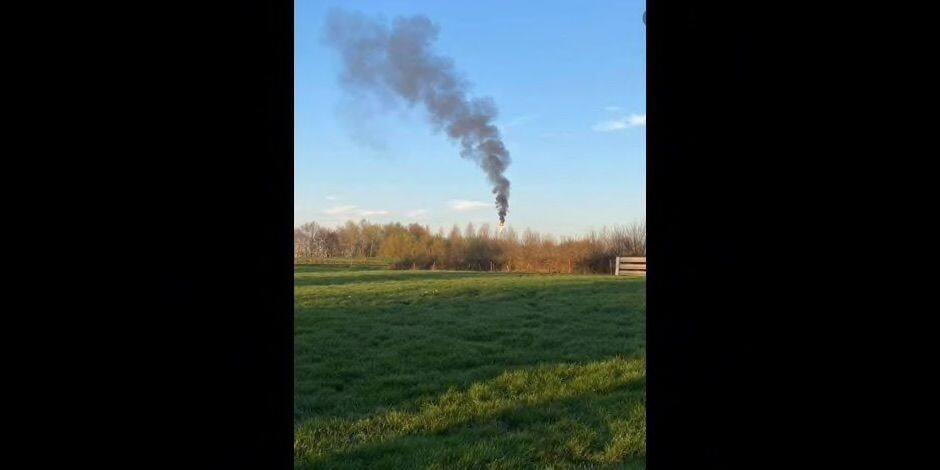 Un départ de feu sur le site d'INEOS entraîne de fortes fumées à Ecaussinnes
