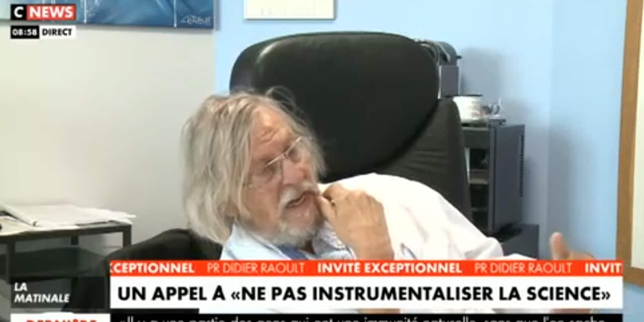 """Didier Raoult dénonce les médias et les politiques de la peur: """"On contraint 3 milliards de personnes pour une chose relativement modeste sur le plan numérique"""""""