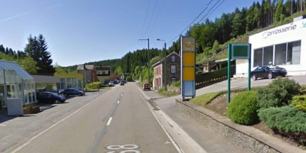 Accident sur la N 68 à Salmchâteau : un blessé