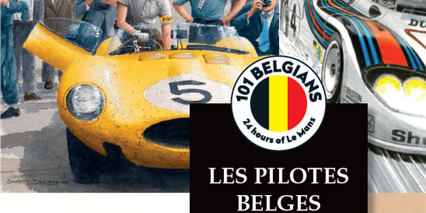 Un livre et une expo sur les 101 pilotes belges aux 24H du Mans - La DH
