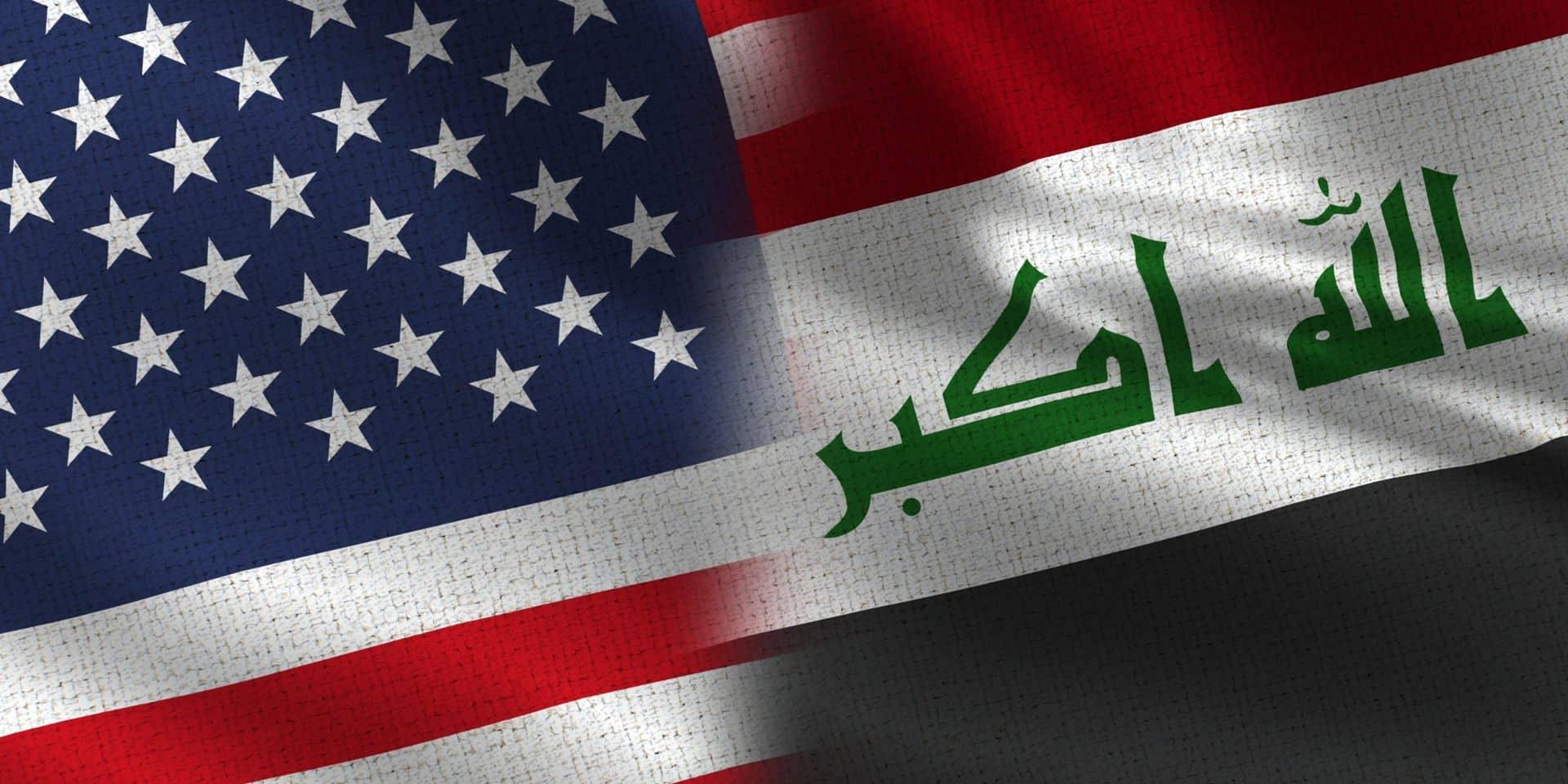 Tir de roquettes près d'une base abritant des troupes américaines en Irak