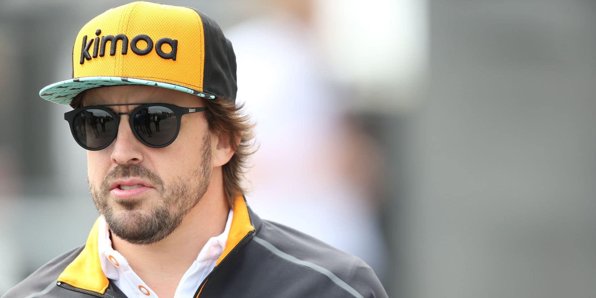 F1: retour en piste pour Alonso après deux ans d'absence