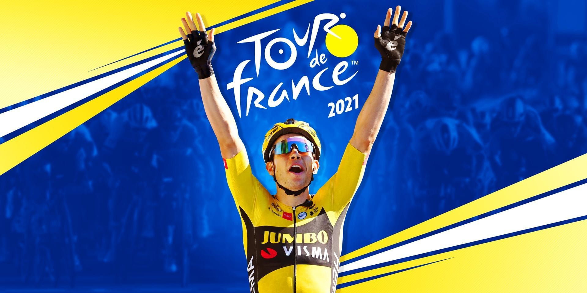 Wout Van Aert en tête d'affiche du jeu Tour de France 2021