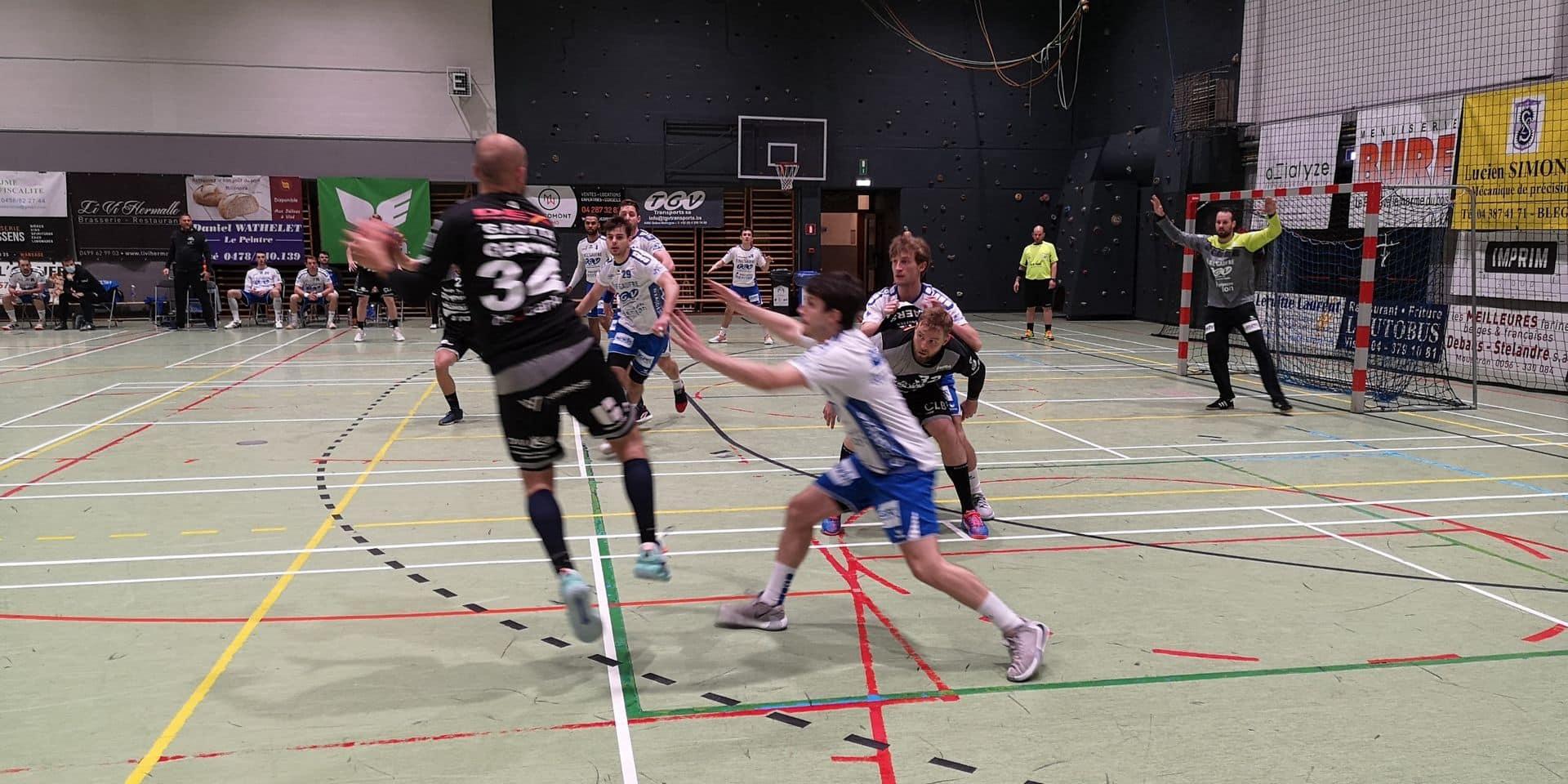 Handball: Visé bat Tongres (34-26) et termine en tête de son groupe