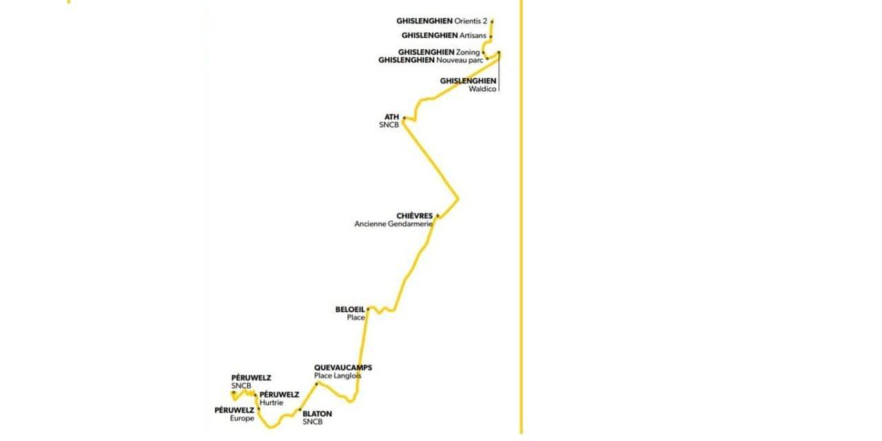 Péruwelz/Ath : une ligne TEC Express le 1er octobre