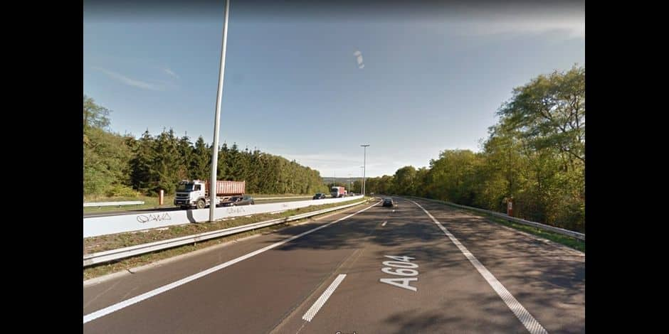 Un accident mortel en début de soirée sur l'A604