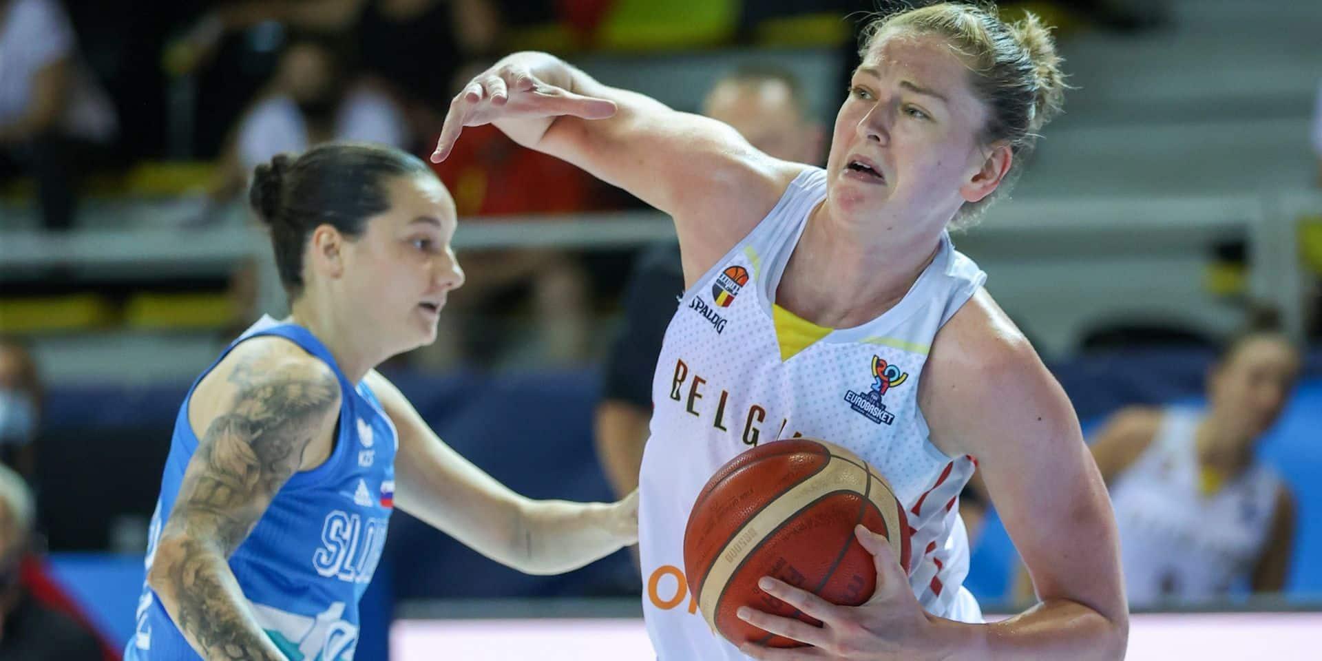 Eurobasket : Les Belgian Cats s'imposent facilement face à la Slovénie