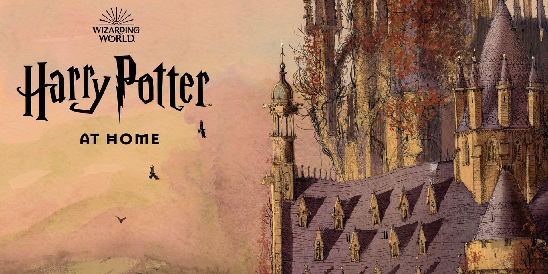Ajoutez un peu de magie à votre confinement grâce à Harry Potter