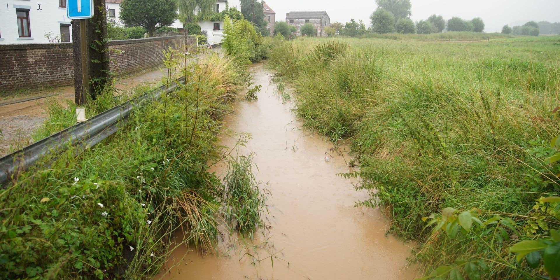 Intempéries dans le Brabant wallon: plusieurs cours d'eau en phase d'alerte de crue