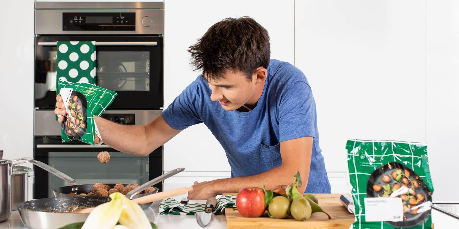 Des boulettes belges, sans viande au goût de viande chez Ikea : le chef Loïc Van Impe dévoile la façon dont il a conçu leur recette