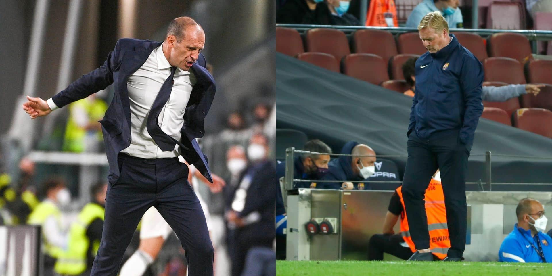 Juventus et Barça: un seul être vous manque…