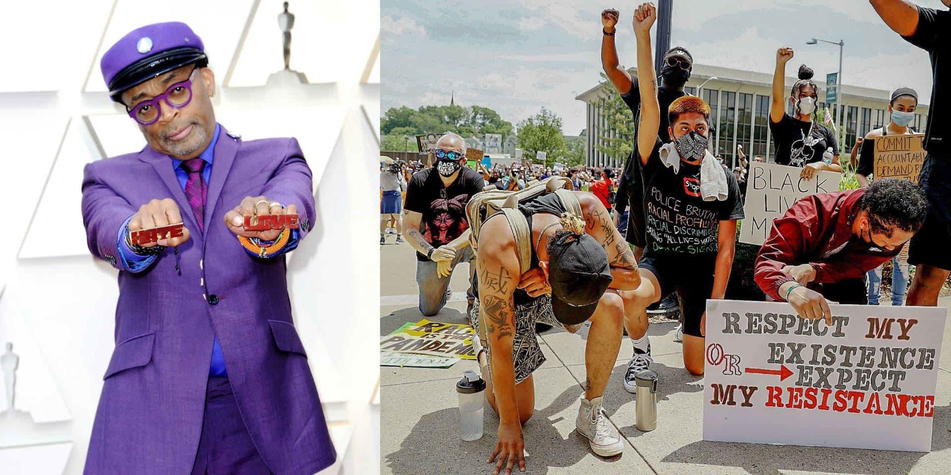 """Spike Lee, ardent militant de la cause des Noirs : """"c'est la première fois depuis les années 60 que je vois une telle adhésion"""""""