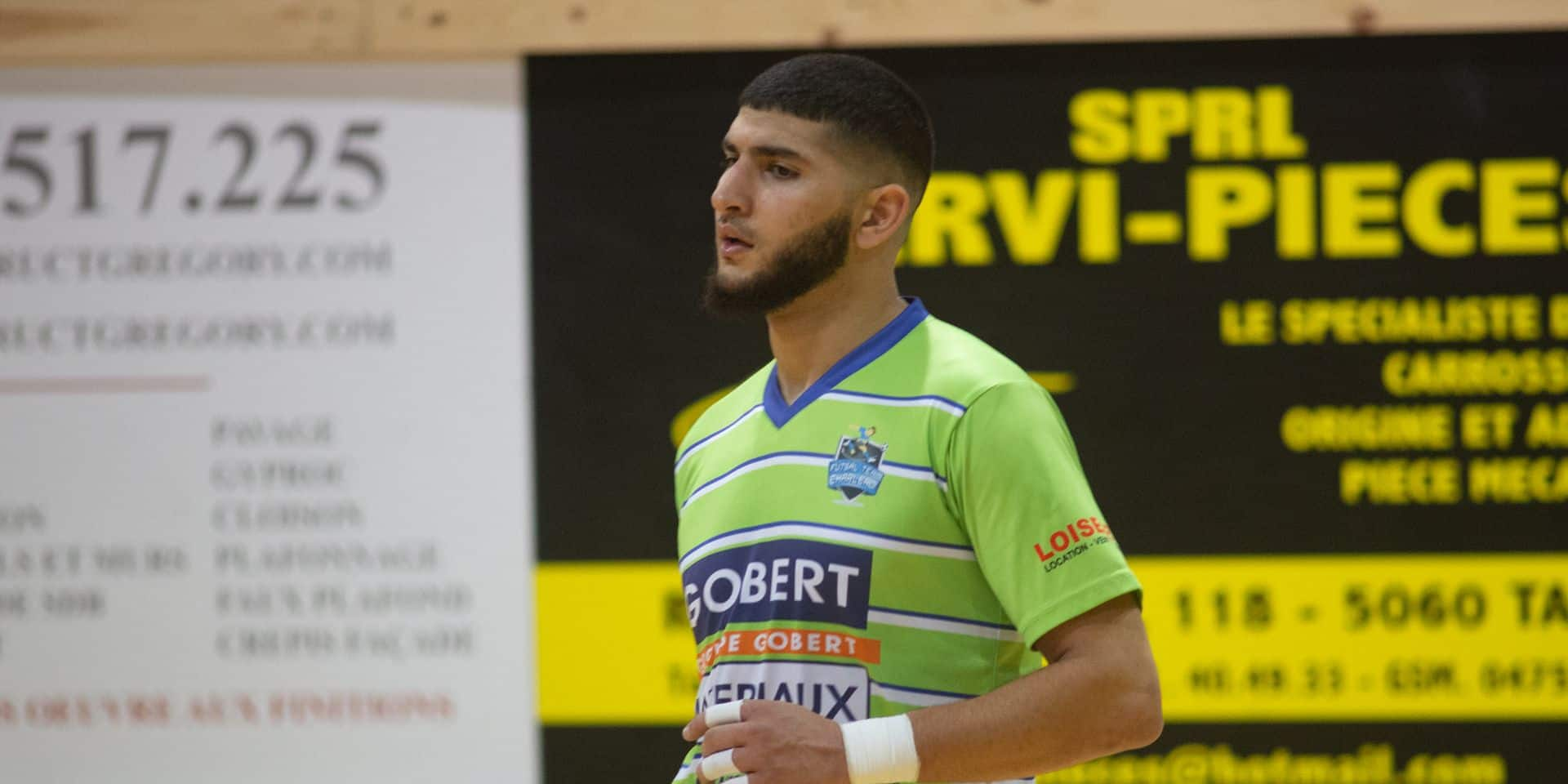 "Mustafa Idrissi: ""Je veux un maximum de clean sheets avec le Futsal Team Charleroi"""