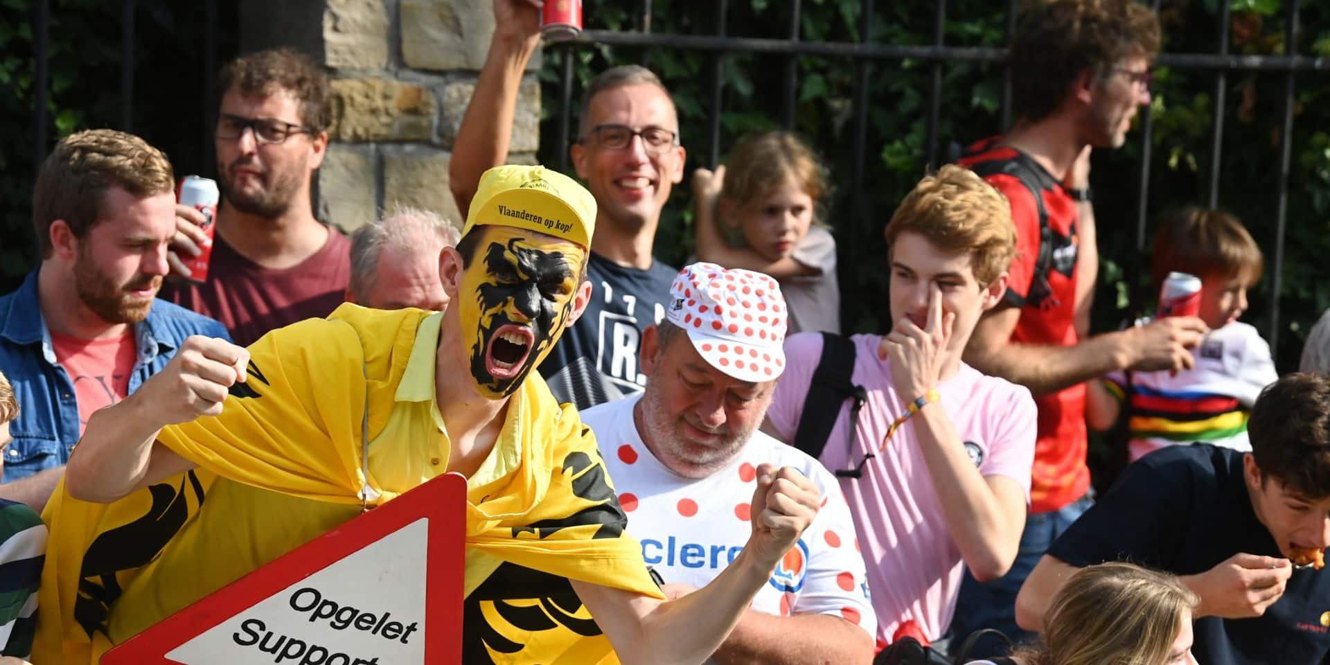 Louvain en folie: l'incroyable ambiance pour la dernière journée des Mondiaux de cyclisme (PHOTOS)