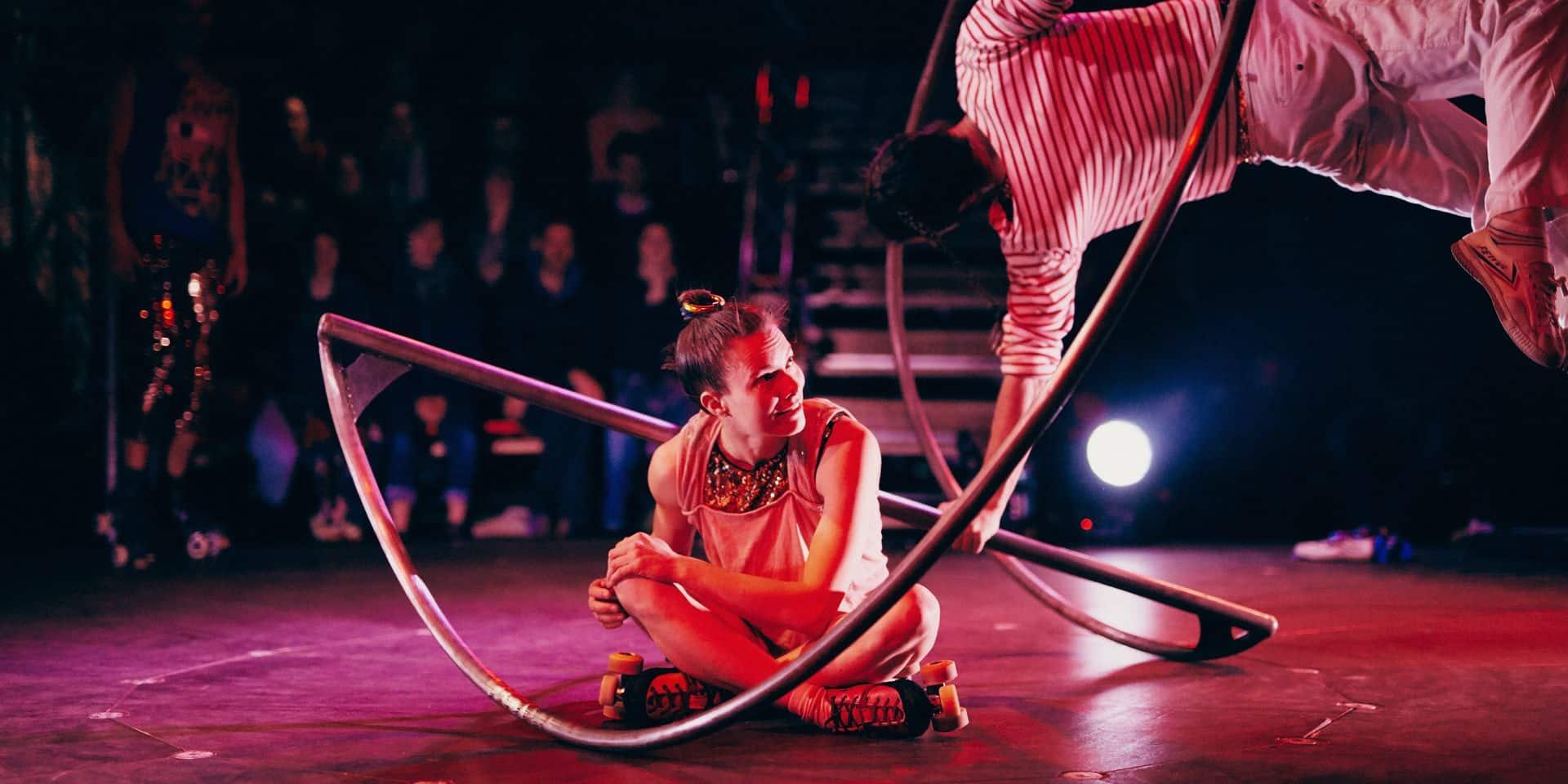 Molenbeek-Saint-Jean: un grand cri d'amour au cirque