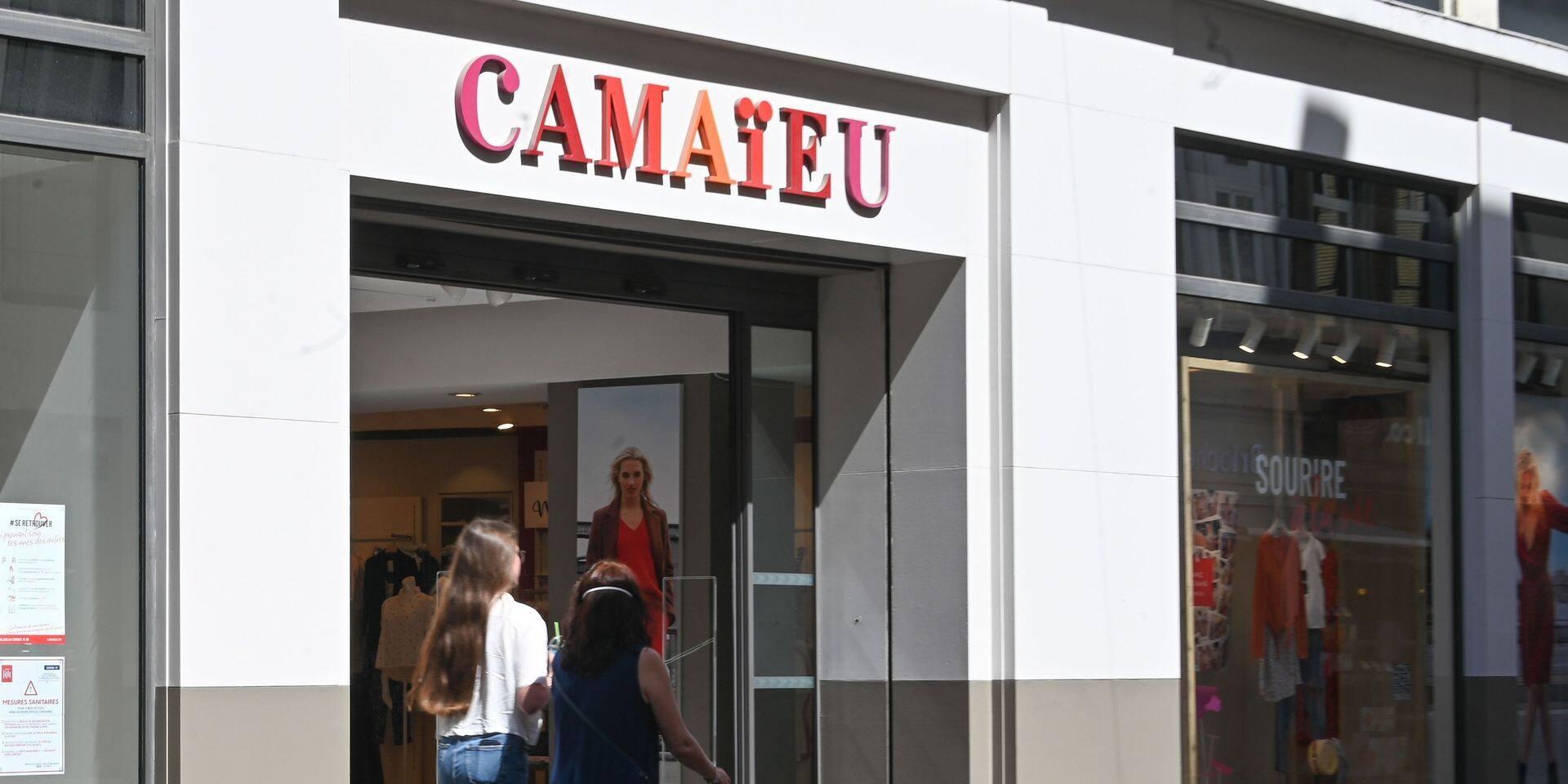 Clap de fin pour Camaïeu Belgique