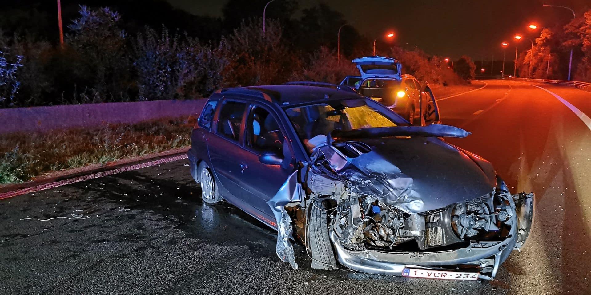 Gosselies: un bébé blessé dans un accident sur l'A54