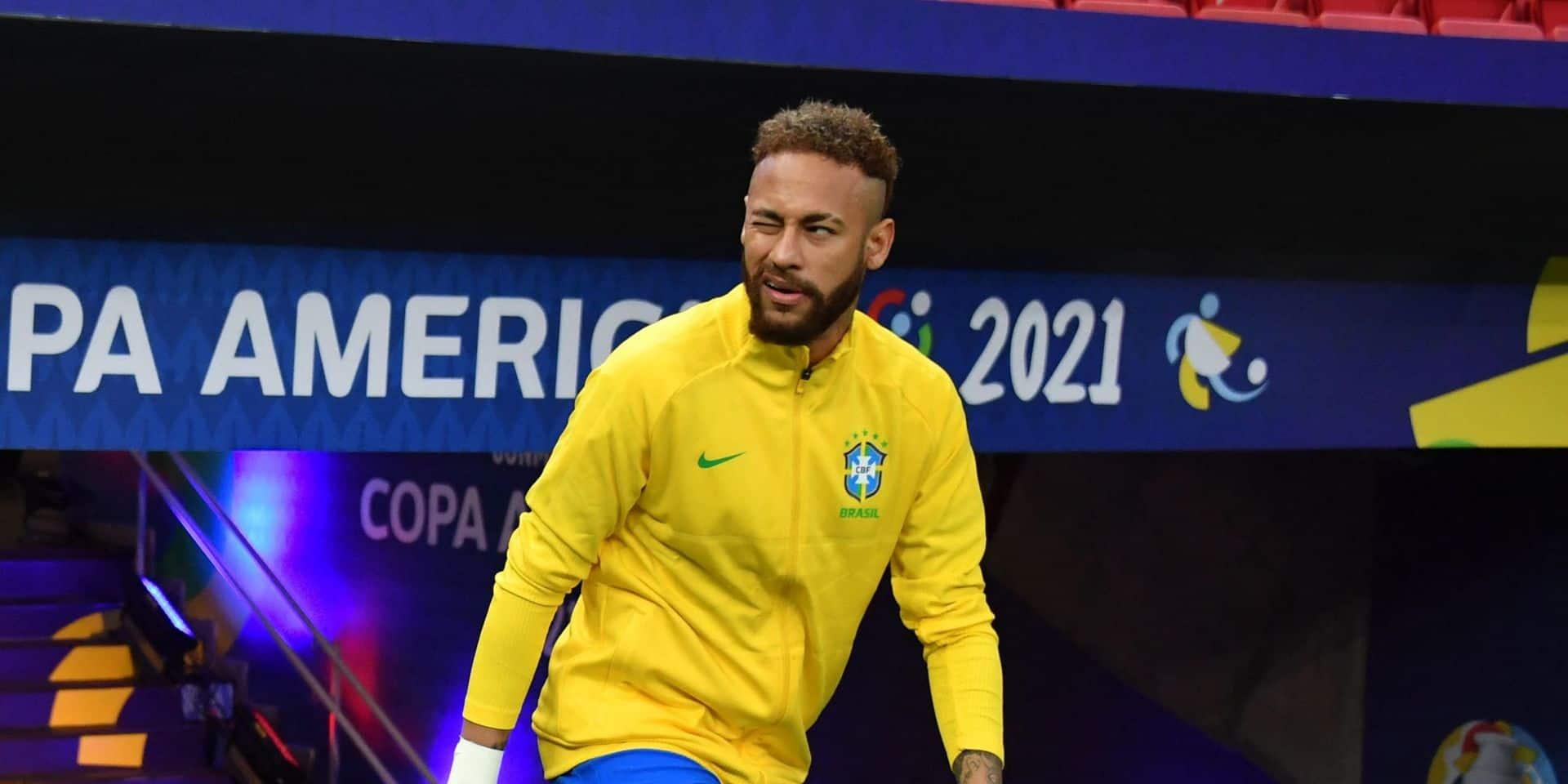 Copa America : Le Brésil bat sans briller un Venezuela diminué, Neymar décisif