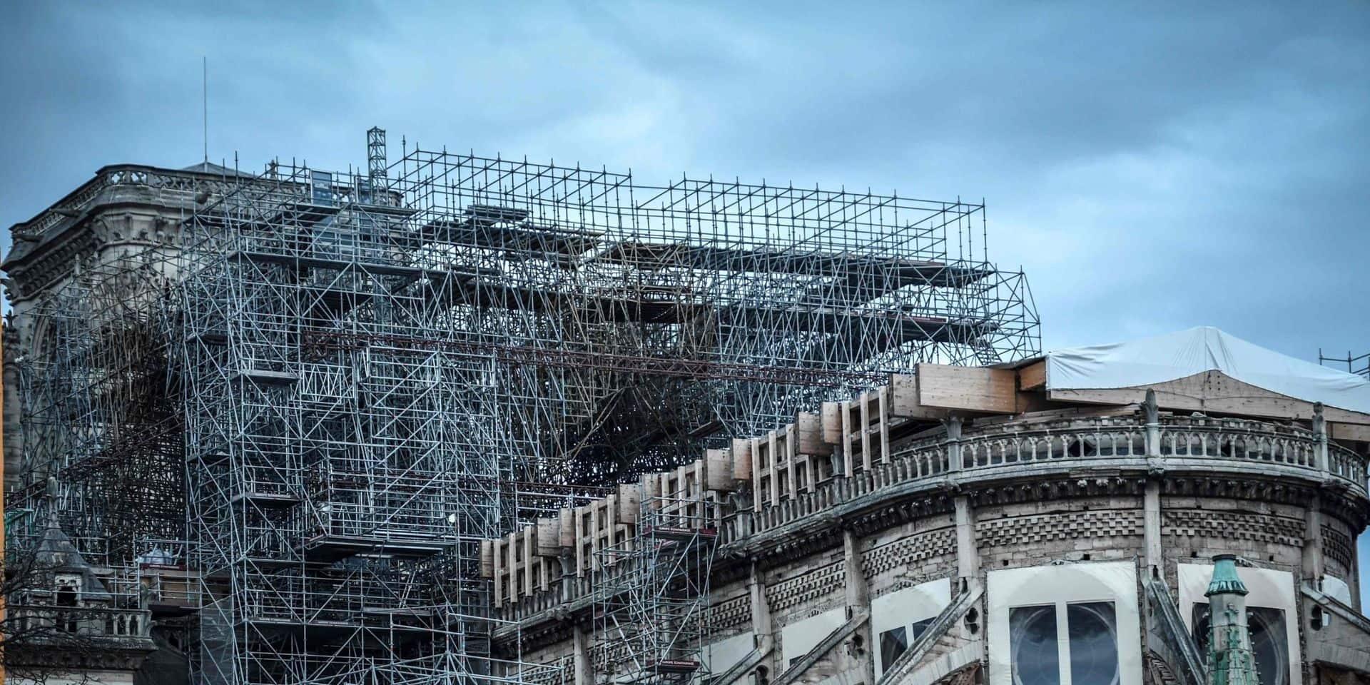 Incendie à Notre-Dame de Paris - Aucune décision n'a encore été prise pour la flèche et la charpente (responsable)