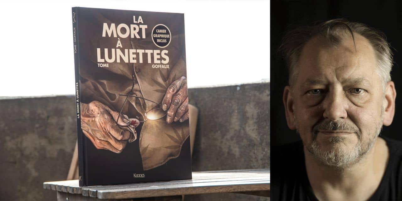 """La Mort à Lunettes: """"Philippe Tome comptait sur cet album pour marquer son grand retour"""", explique Gérard Goffaux"""