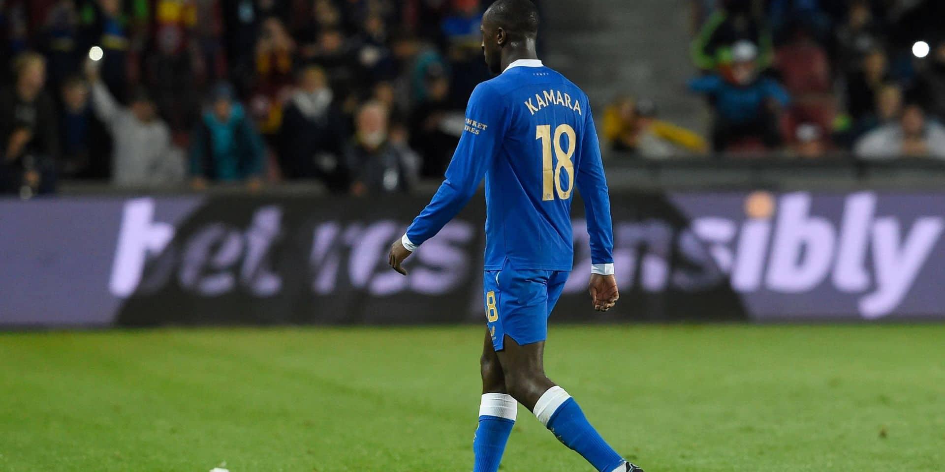 Les Rangers vont saisir l'UEFA après les sifflets visant Kamara à Prague