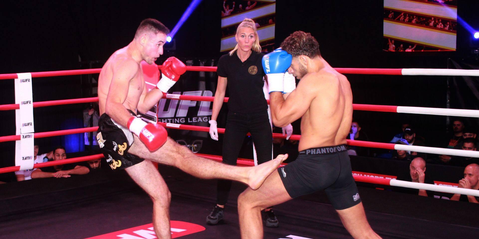 """Lionel Bady trace sa route dans le kickboxing: """"La boxe m'a aidé à trouver ma voie"""""""
