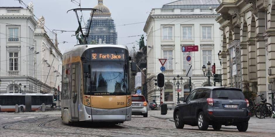La Stib enregistre le taux d'accidents de tram le plus bas depuis 2013