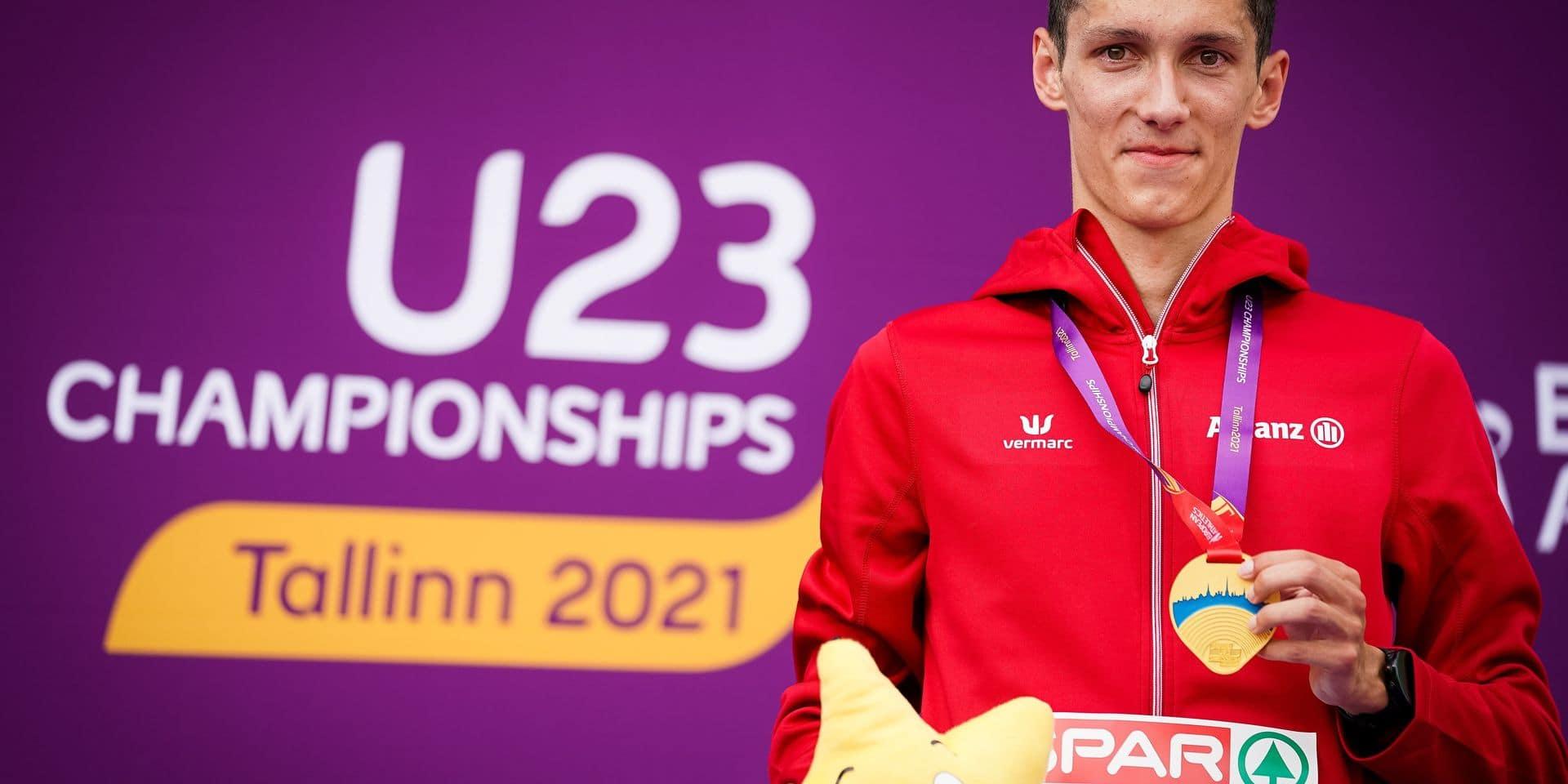 Cinq médailles et beaucoup d'espoirs pour la Belgique aux championnats d'Europe U23