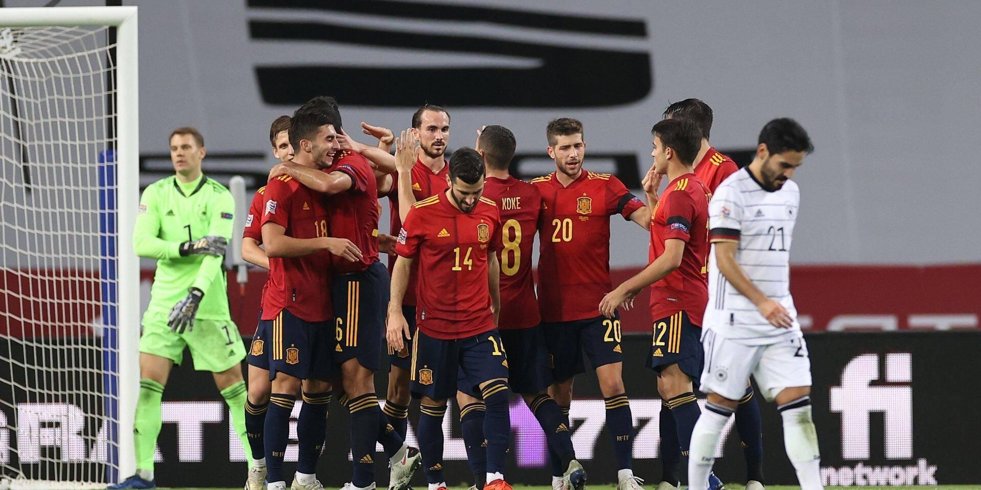 """L'Espagne écrase l'Allemagne 6-0 et va au """"Final-4"""""""