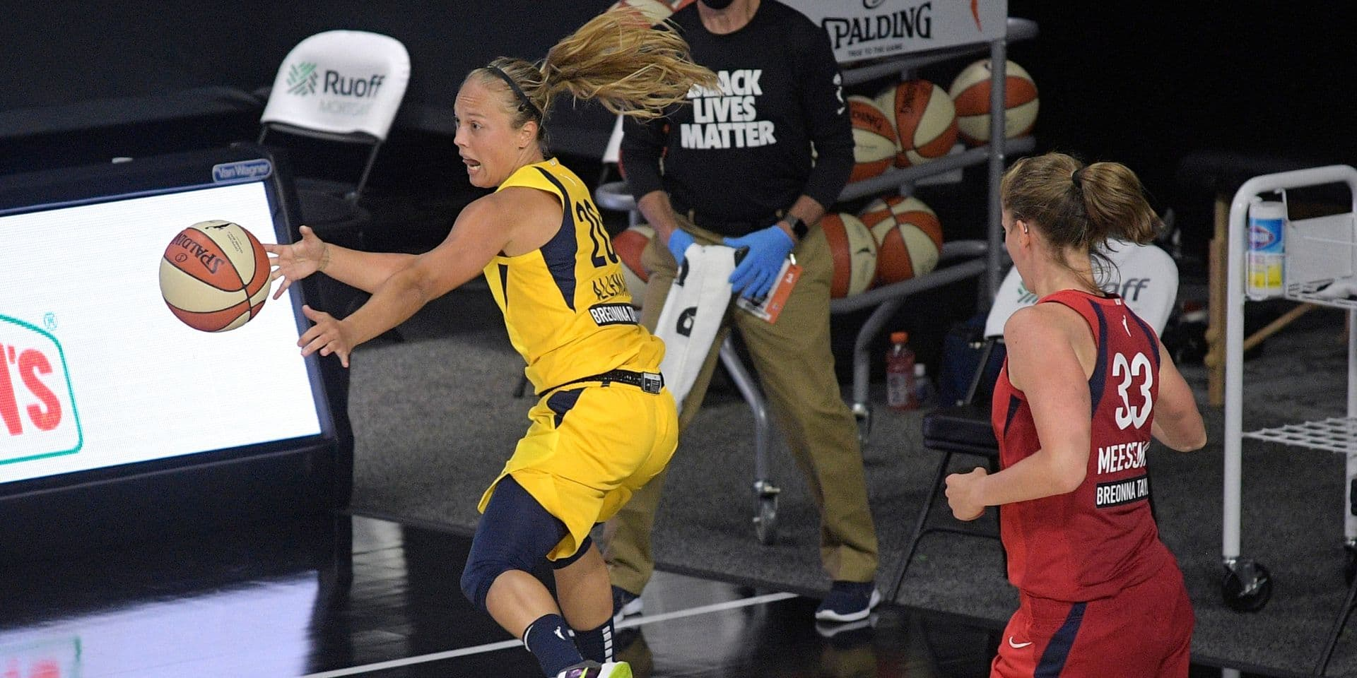 WNBA: l'exploit de Julie Allemand (12 pts, 7 rbds, 6 ass.) et Indiana, qui surprennent le leader