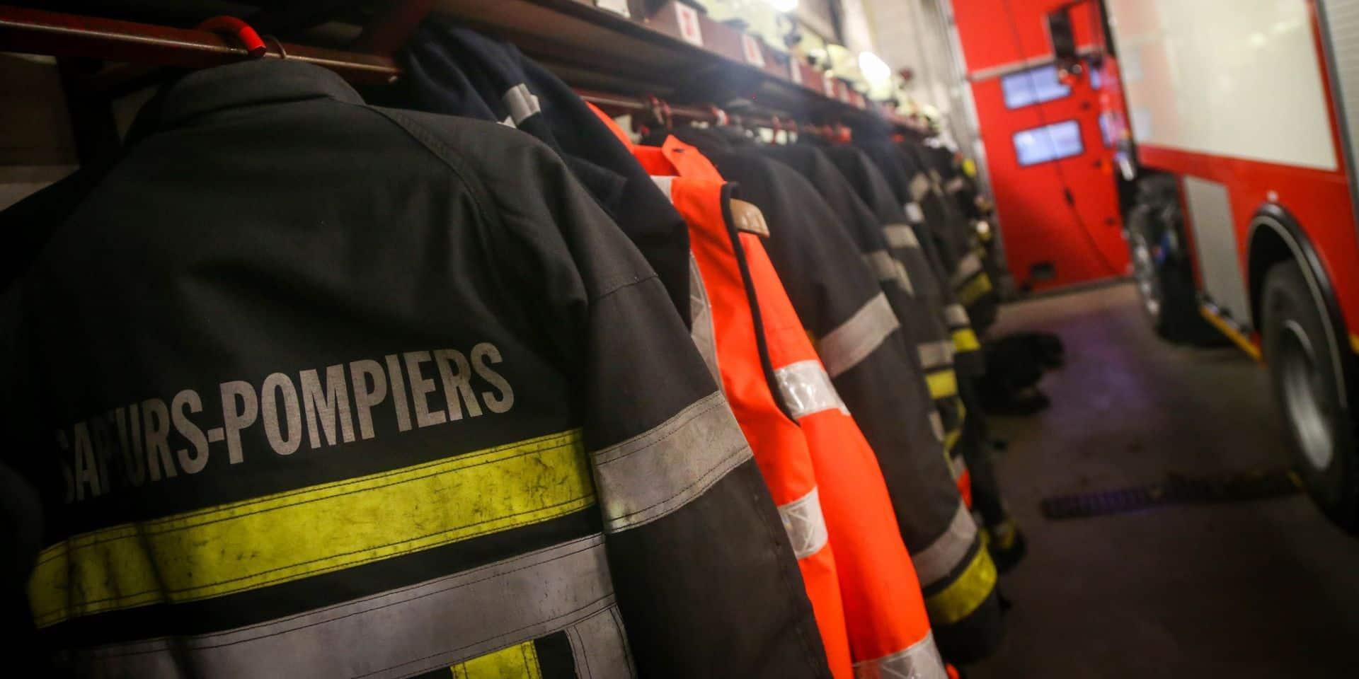 Un incendie se déclare dans la cave d'une habitation à Carnières