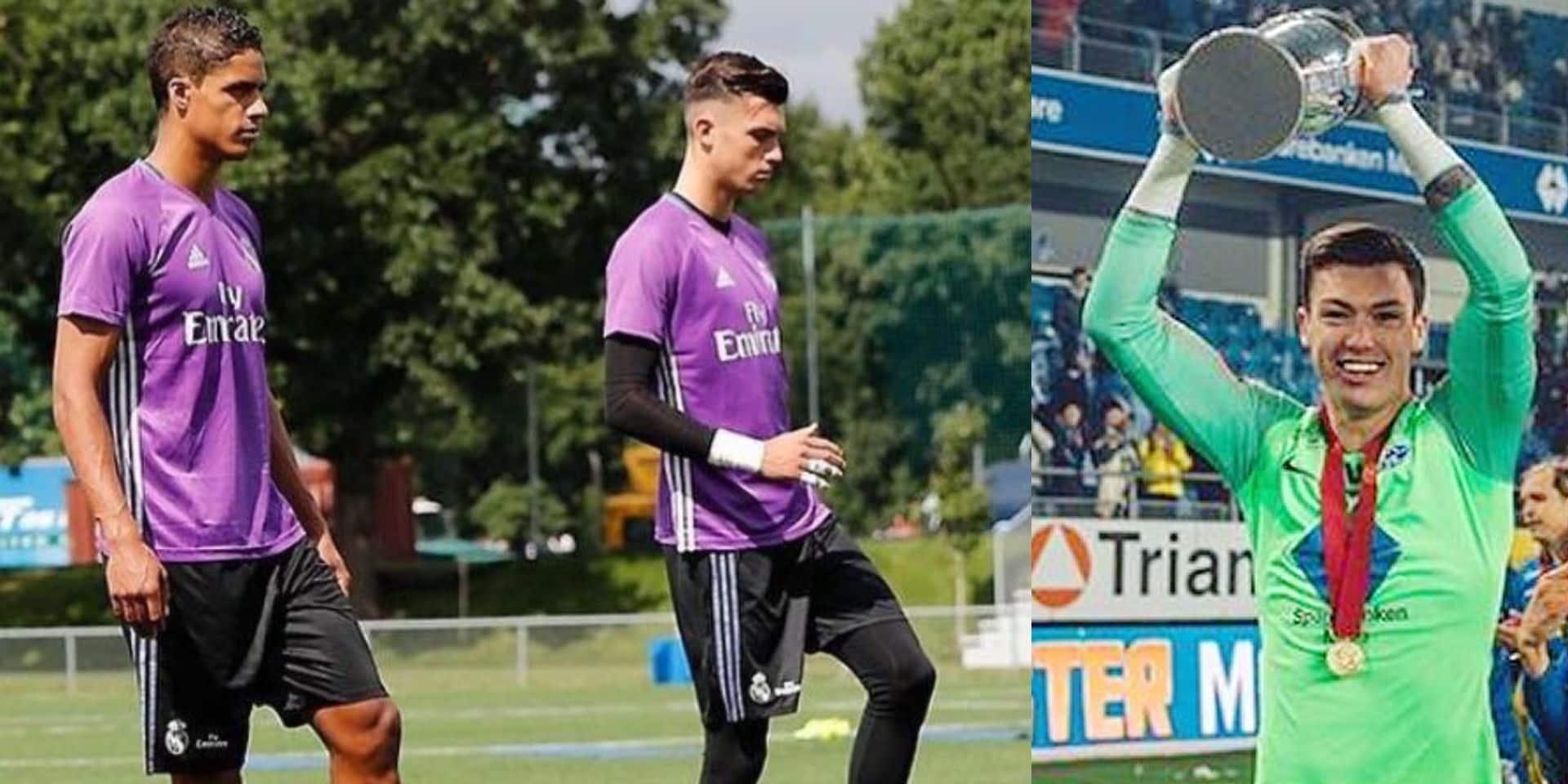 """Alex Craninx, ce Belge qui a joué au Real pendant six ans: """"Zidane adorait ma mentalité"""""""