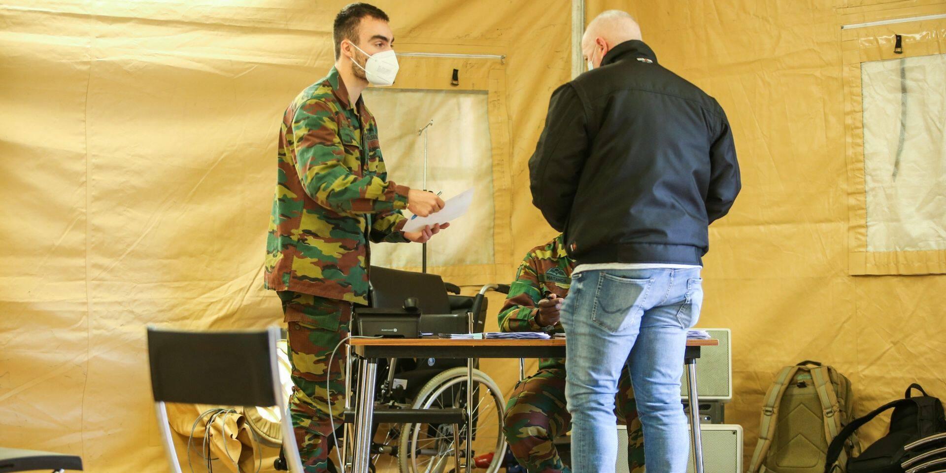 Neder-Over-Heembeek : Le centre de vaccination de l'hôpital militaire Reine Astrid ouvre ses portes ce lundi