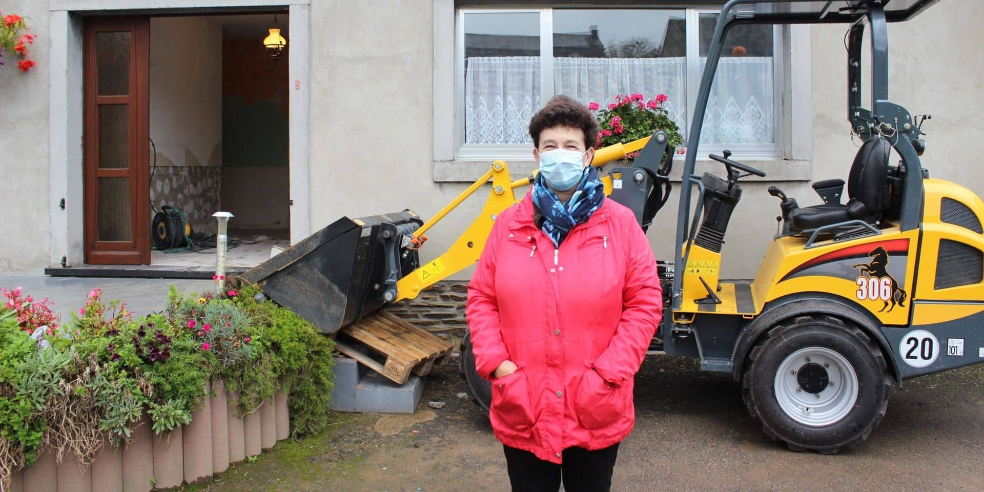 """Début des travaux après les inondations à Grand-Halleux : """" Un soulagement !"""""""