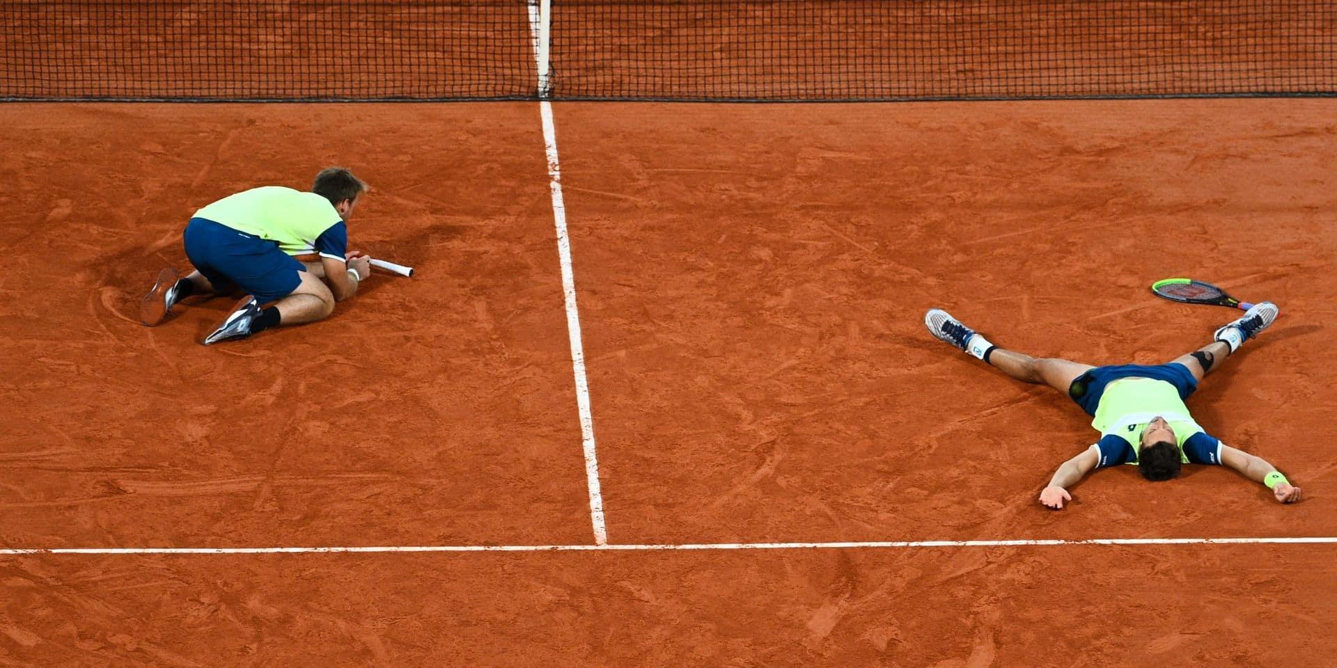 Les Allemands Krawietz et Mies conservent leur couronne à Roland-Garros