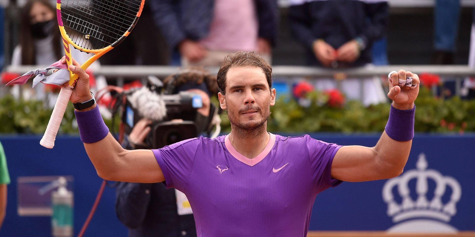 ATP Barcelone: Rafael Nadal écarte Carreno-Busta et défiera Tsitsipas en finale pour un douzième sacre