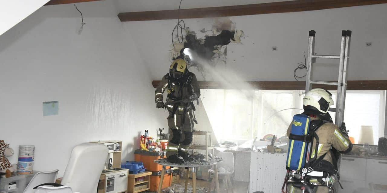 Berchem-Sainte-Agathe : les pompiers interviennent pour un feu de toiture