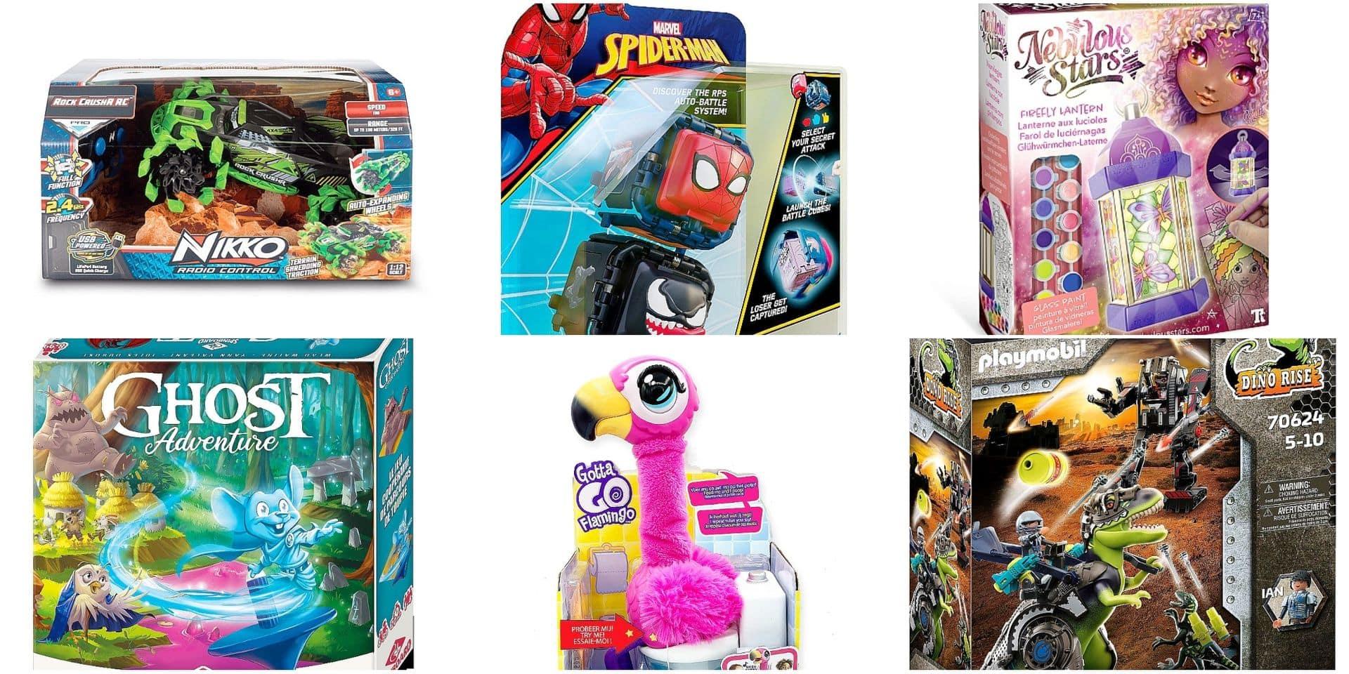 Voici les jouets que vos enfants vont réclamer à Saint-Nicolas ou Père Noël