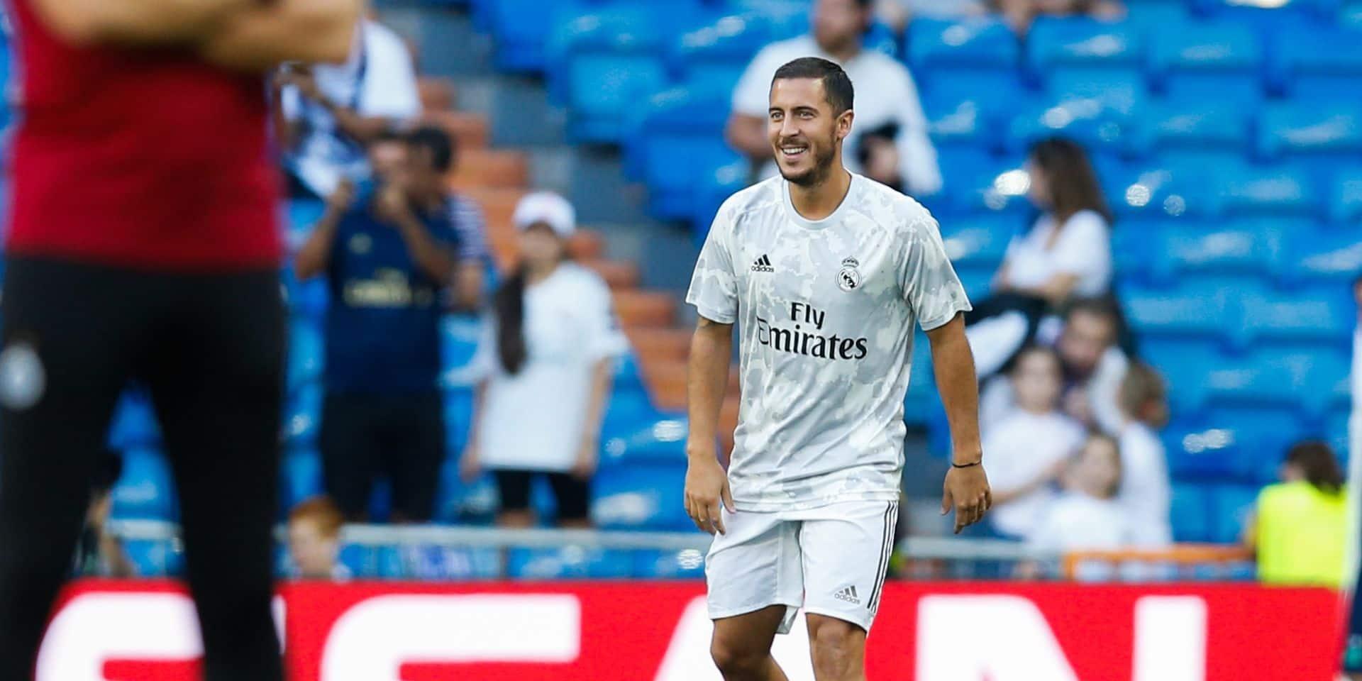 Pourquoi Eden Hazard n'est pas monté au jeu face à l'Inter