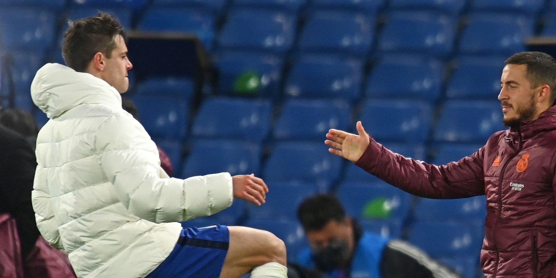 Quand Eden Hazard rigole avec ses anciens coéquipiers après la défaite du Real: l'image qui ne passe pas en Espagne !