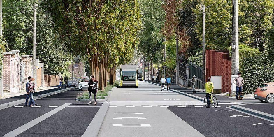 Les plans de circulation à l'étude pour l'avenue Paul Pastur et le BHNS ont fuité, les voici
