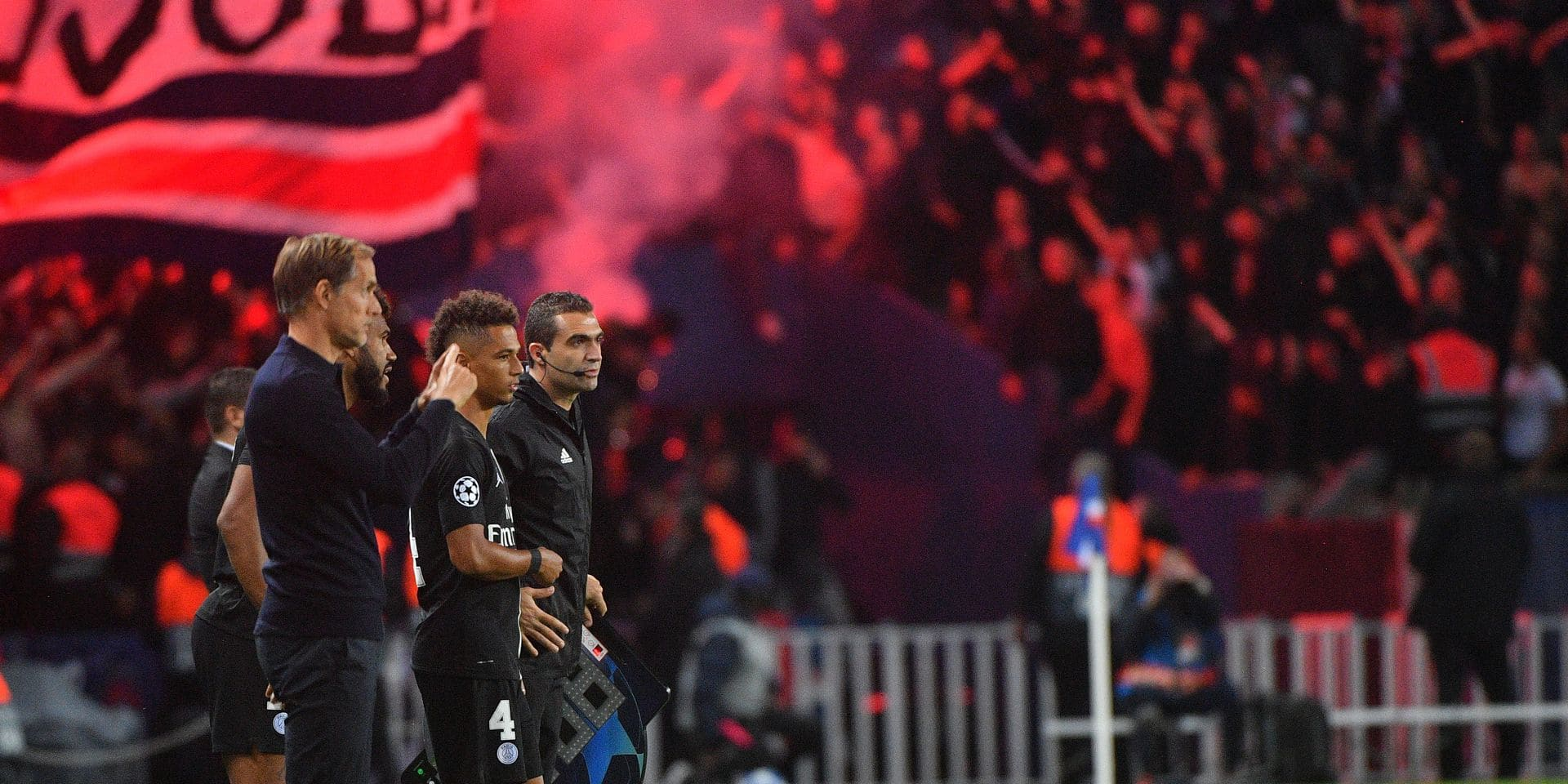 Ligue des champions: Incidents face à l'Etoile Rouge: le PSG s'en sort avec une simple amende