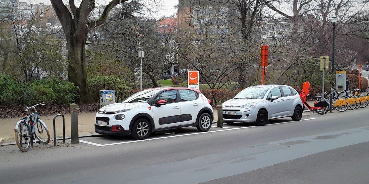 Les voitures partagées Cambio se multiplient à Ixelles