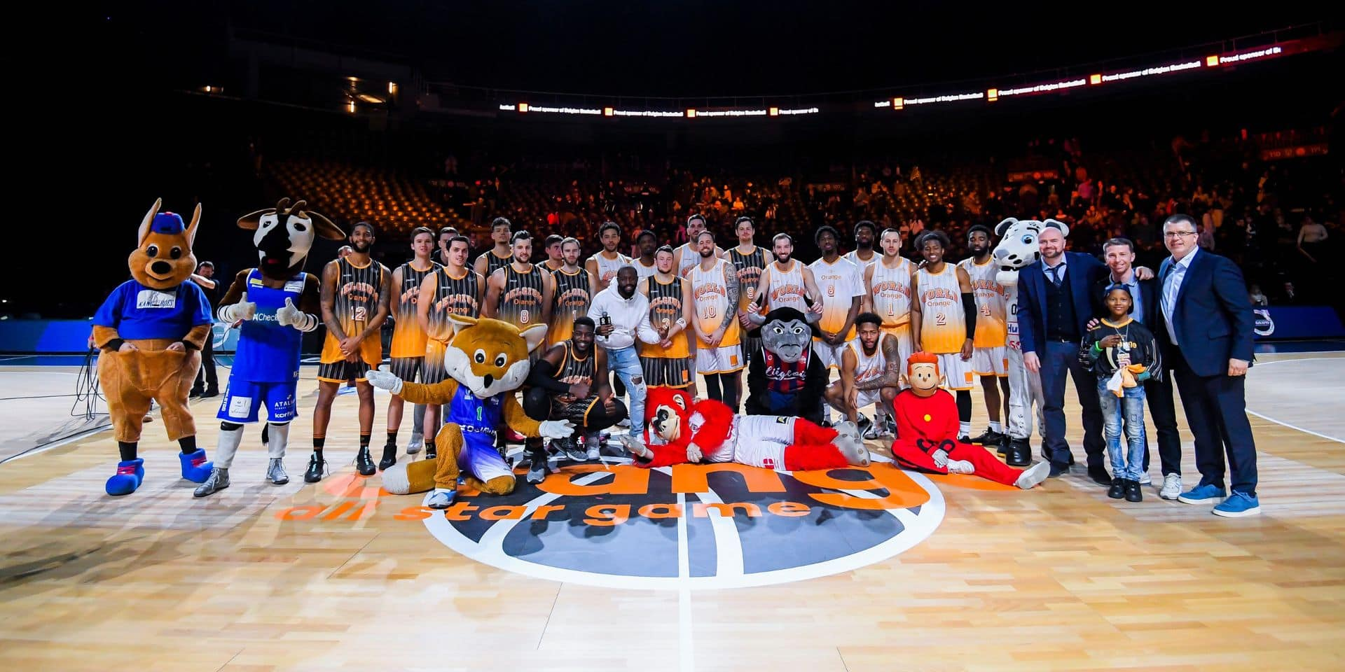 La Team World remporte l'Orange All-Star Game
