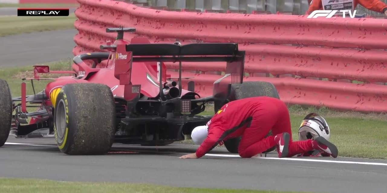 GP du 70e anniversaire (Libres 2): Mercedes en roue libre, salade de bielles pour Vettel