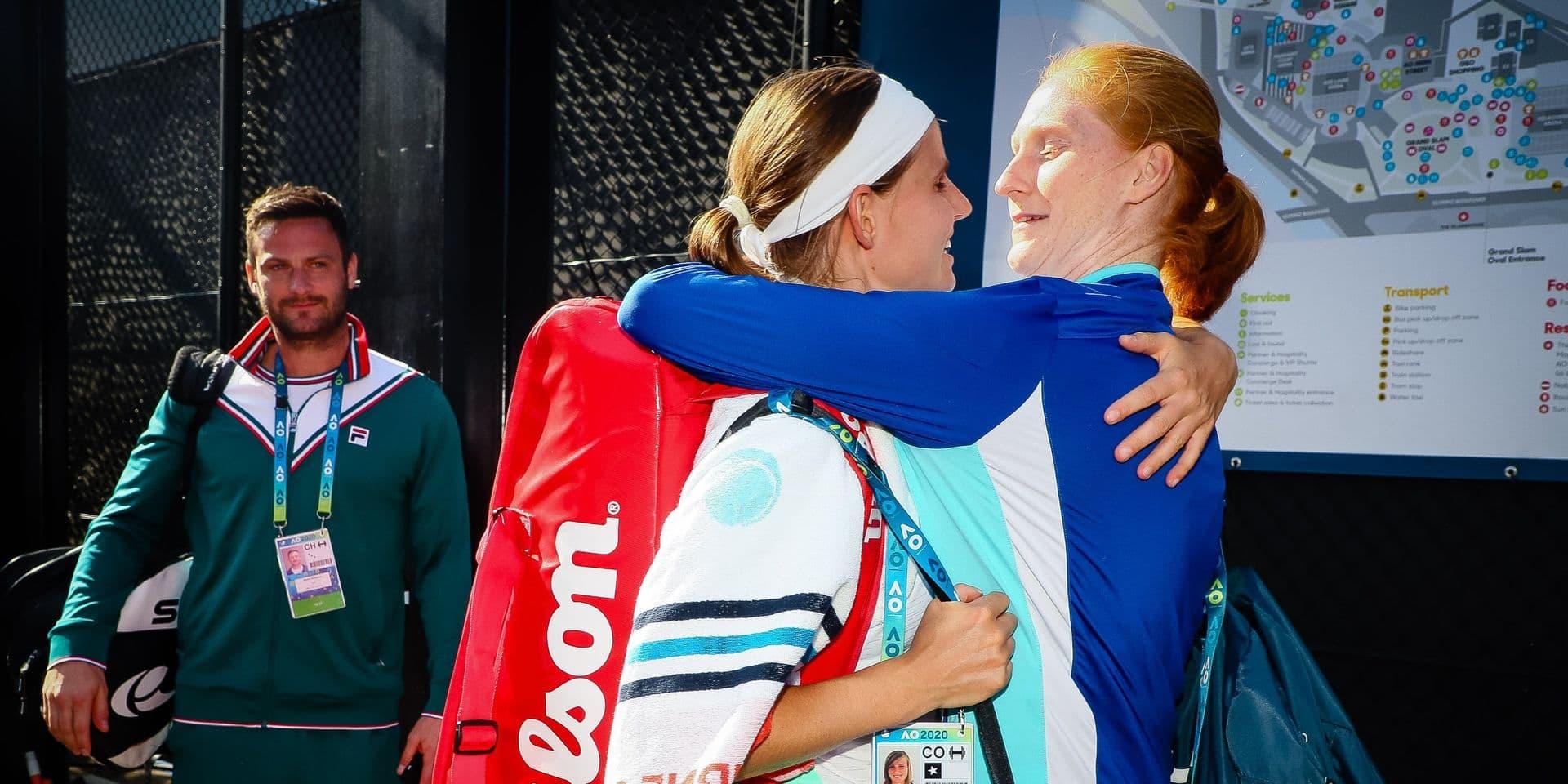 WTA Belgrade : Minnen et Van Uytvanck en finale du double