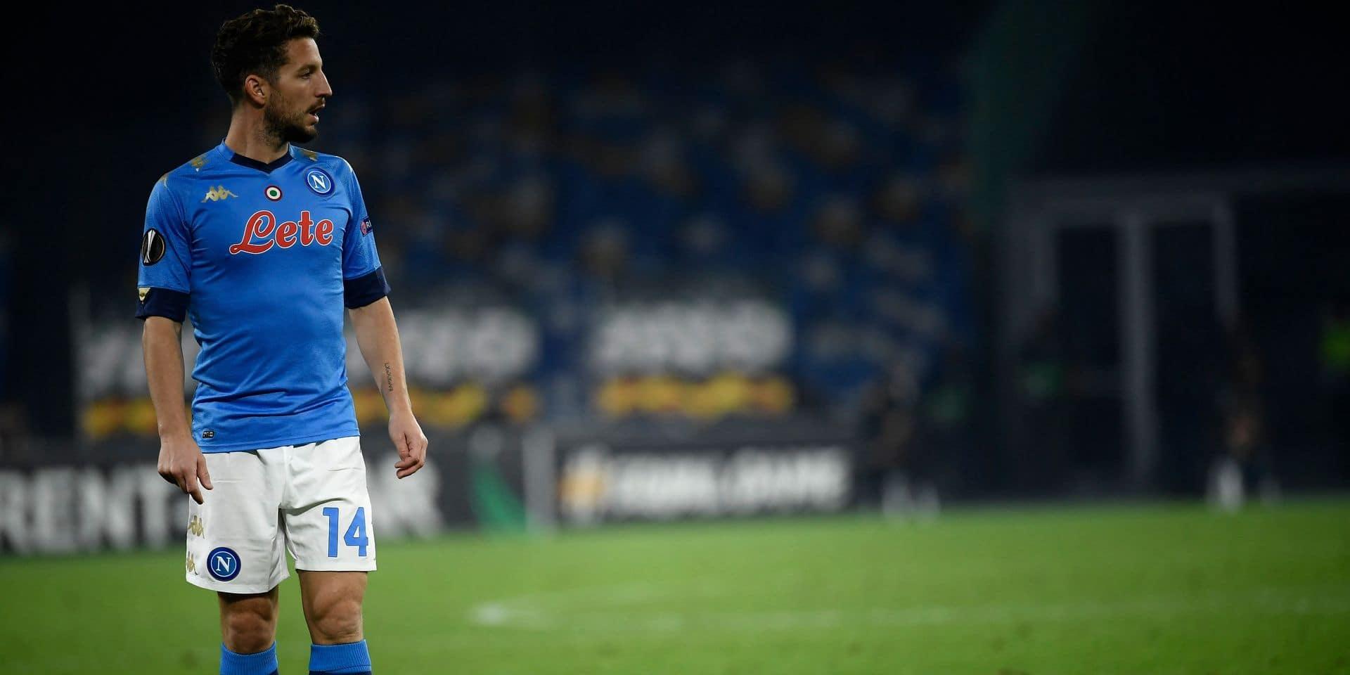Dries Mertens pourrait déjà rejouer en Europa League